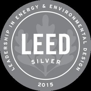 Leadership in Energy and Environmental Design Silver 2015 Award