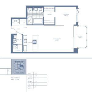 705 Floor plan
