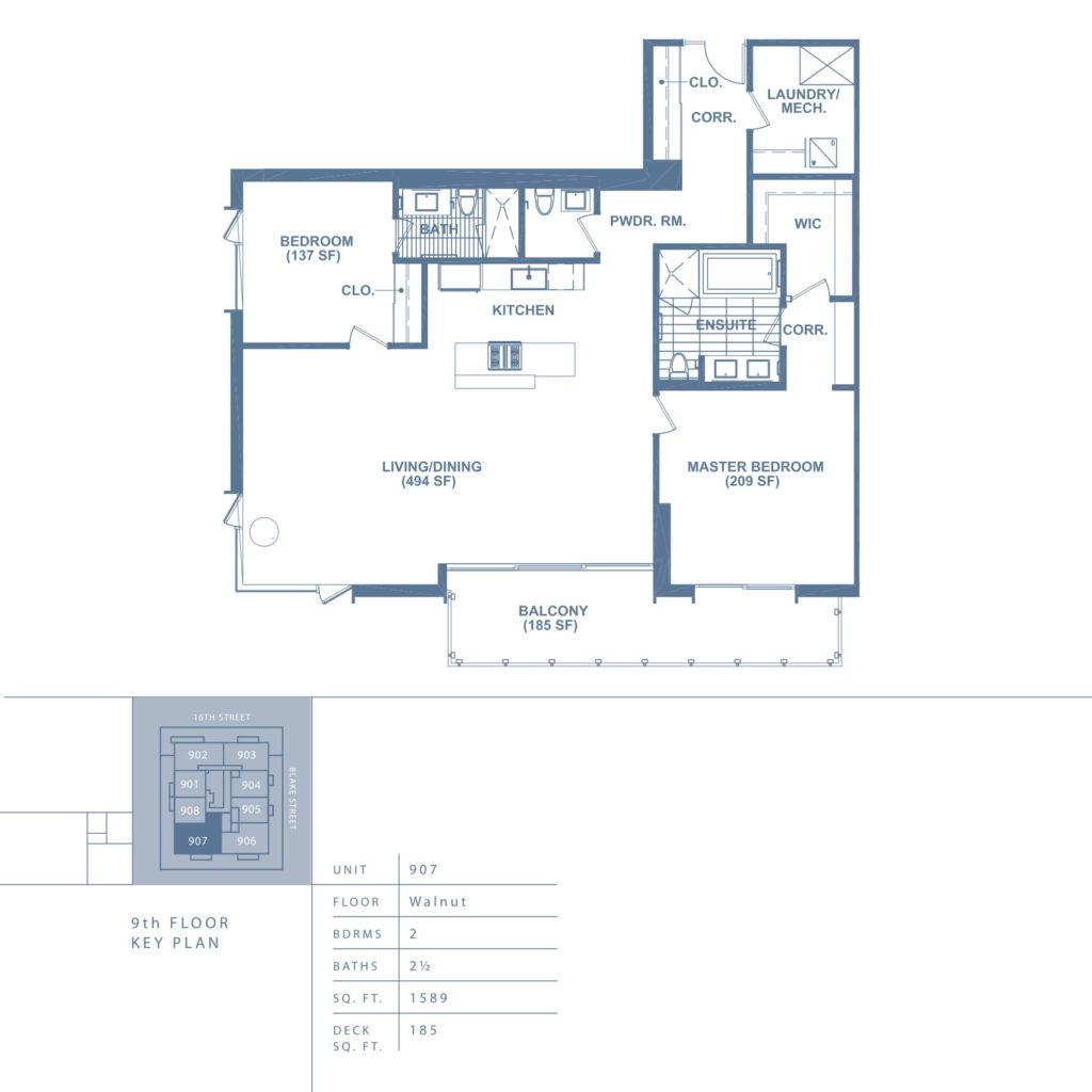 907 Floor plan