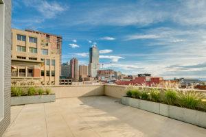 A deck view over Denver